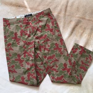 Camo Styled Khakis 100% Cotton by Standard & Grind